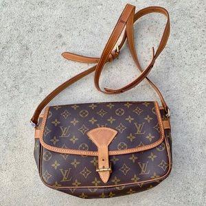 Genuine Louis Vuitton Sologne Crossbody Bag